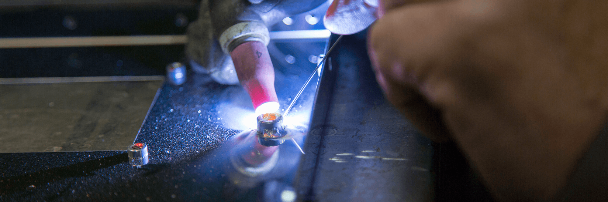 Check out our metal welding services